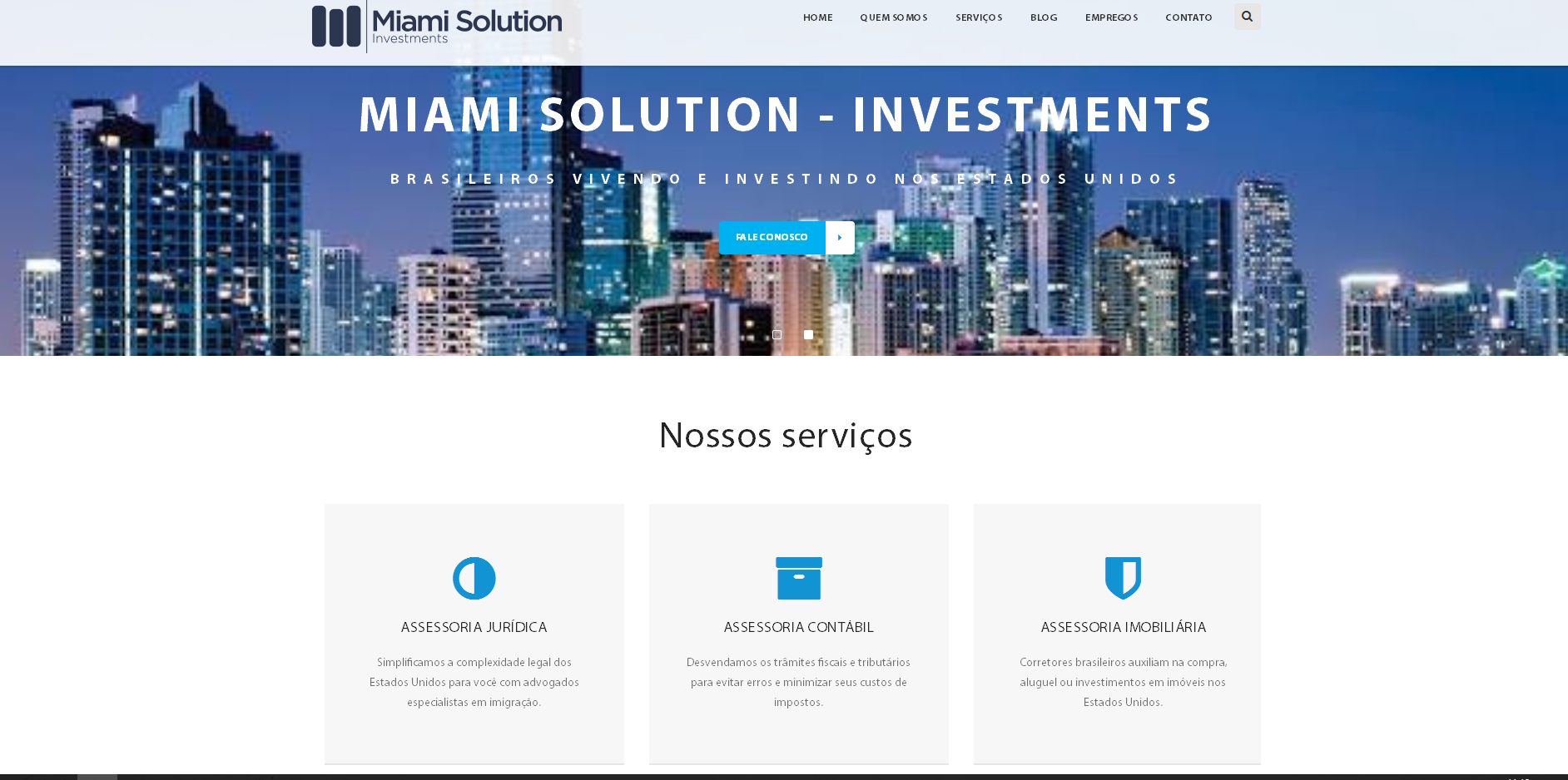 Miami Solution – Investments